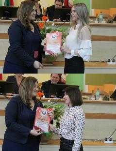 На итоговом собрании сектора культуры были награждены учителя детской школы искусств.