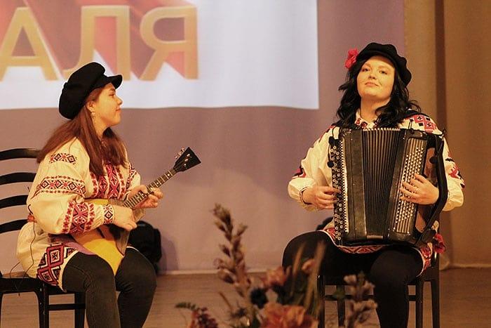 Учащиеся и учителя школы приняли участие в концерте, посвященному Дню защитников Отечества ☺